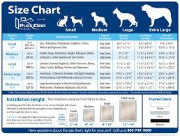 Dog Door Size Chart Best Picture Of Chart Anyimage Org