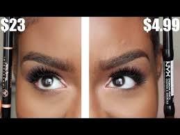 nyx makeup eyebrows. cosmetics auto eyebrow pencil. anastasia beverly hills brow definer vs. nyx automatic pencil nyx makeup eyebrows