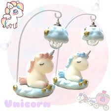 Unicorn Cute Table Lamp Toys Games Others On Carousell
