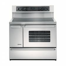 kenmore glass top stove. kenmore elite 5.4 cu. ft. double-oven electric range - stainless steel glass top stove