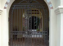 front door gateFront Doors  Trendy Colors House Metal Front Door Gate 42 House