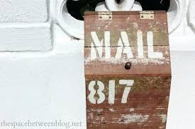wooden mailbox designs. Wooden Mailbox Free Designs Post Dimensions .