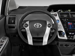 Image: 2013 Toyota Prius V 5dr Wagon Five (Natl) Steering Wheel ...