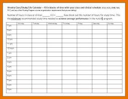 Class Schedule Template Online 9 10 Weekly Schedule Template Online Juliasrestaurantnj Com