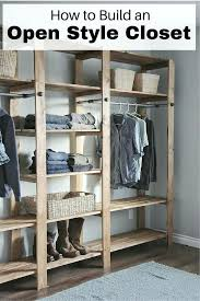 open closet ideas best about closets on wardrobe photo details from these image diy