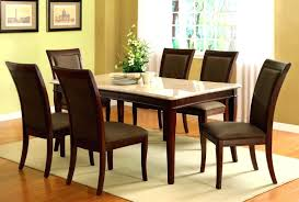 round granite dining table top brown parson chairs set home decor counter height magnificent in pictures