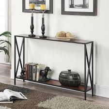 amazing thin console table regarding modern sofa tables allmodern