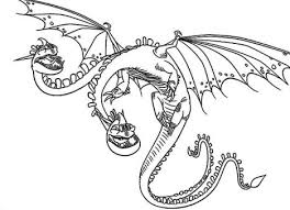 As hiccup fulfills his dream of creating a peaceful dragon utopia, toothless' discovery of an untamed, elusive mate draws the night fury away. How To Train Your Dragon Coloring Pages Monstrous Nightmare Part 3