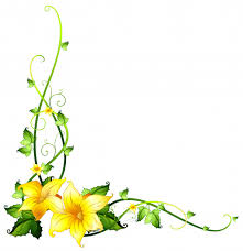 Wine Border Template Border Template With Yellow Flowers Vector Free Download