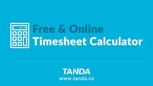 Using Tandas Free Timesheet Calculator Youtube