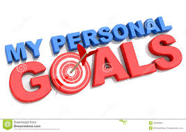 my personal goals stock illustration image 48460691 my personal goals