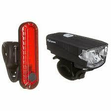 Комплект фонарей для <b>велосипеда STG</b> FL1588(300 люм <b>звонок</b> ...