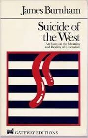 suicide of the west an essay on the meaning and destiny of  flip to back flip to front