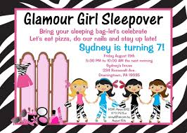 How To Make A Sleepover Invitation How To Make Slumber Party Invitations Birthday Party Sleepover