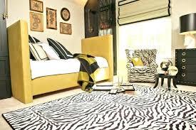 area rugs zebra rug gray brown