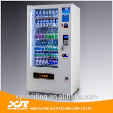 Can Vending Machine Interesting XY Hot Sale Beer Vending Machine For Sale Can Vending Machine