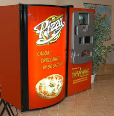 Vending Machine Pizza Inspiration Wonder Pizza Creates A Pizza Vending Machine Geekologie