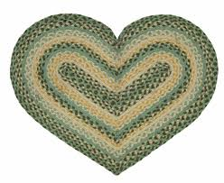 ihf rugs robins egg heart green area rug hfbr233hrt