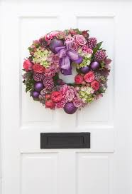 best christmas wreaths images on pinterest  christmas flowers