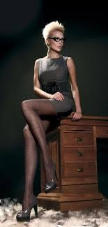 hot office pic. Classic A Line Dress With Elegant Tights And High Heel For Hot Office Outfit Pic
