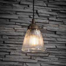 single paris ceiling light glass
