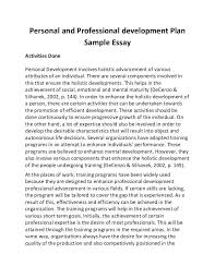 Example Of Profile Essay Personal Statement For Resume Sample Perfect Laborer Resume