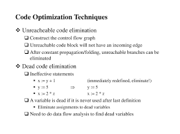 Constant Propagation In Compiler Design Code Optimization Overview And Examples Ppt Download