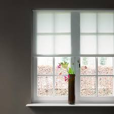 Light Filtering Window Shades Cocoon By Coulisse Cut To Width Bright White Light Filtering Fabric Cordless Roller Shade 30 5 In W X 72 In L