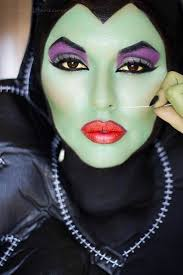 face painting ideas great witch colour boo