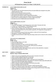 Loan Operations Manager Sample Resume Good Loan Operations Manager Resume Sample Loan Operations Resume 1