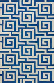 dalyn if1co blue greek key lines modern 9 x13 boxes area rug approx 9 x13