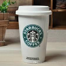 starbucks coffee cup.  Starbucks 12oz Capacity Traditional Style Ceramic Double Wall Starbucks Coffee Mug  With Silicone Lid Xmas Mugs Buy From Starbucksmug 181 DhgateCom On Cup C