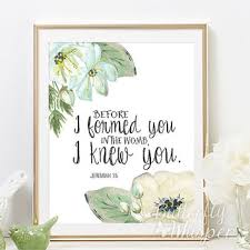 nursery bible verse wall art print decor before i formed you in the womb i on wall art sayings for nursery with nursery print quote art baby girl wall from butterflywhisper on