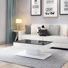 clear top coffee tables furniture