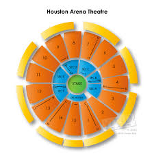 The Arena Theater Houston Tx Seating Chart Detailed Arena Theatre Seating Chart Houston Arena Theatre