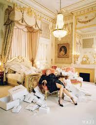 Marie Antoinette Inspired Bedroom Editorial Kate Moss By Tim Walker For Vogue Us April 2012