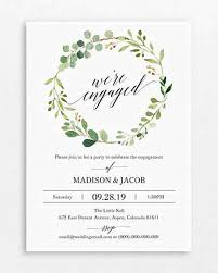 Party Invitations 20 Engagement Party Invitations Martha Stewart Weddings
