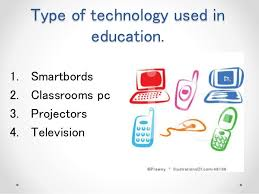 impact of technology on education 6 type of technology used in education