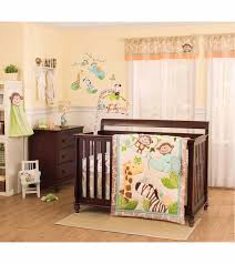 carters jungle play 4 piece crib bedding set pertaining to brilliant house carters crib bedding set decor