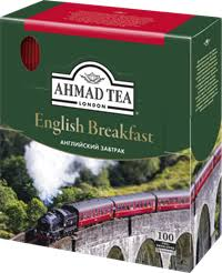 <b>Чай черный</b> AHMAD <b>TEA</b> English breakfast с ярл. к/уп – купить в ...