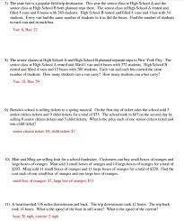 system of equations word problems worksheet homeschooldressage com