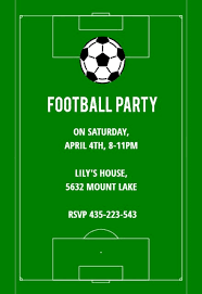 Soccer Party Invite Soccer Night Sports Games Invitation Template Free