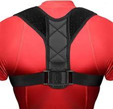 DIZA100 Posture <b>Corrector</b> Shoulder <b>Back</b> Support Brace Adjustable...