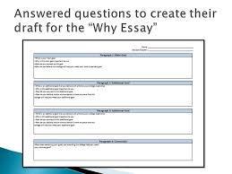 overview and revision  there are typically two main essays   items to identify ◦ of institution ◦ 3 goals ◦ specific example of how the campus aligns to goal ◦ why each goal is important to the student