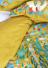 paint me a picture duvet cover set in full queen decorate your own blue house with this printed duvet cover and two sham set from karma living