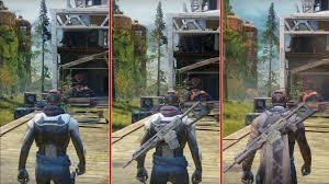 Ps4 Ps4 Pro Comparison Chart Destiny 2 Graphics Comparison Ps4 Vs Ps4 Pro Vs Xbox One S