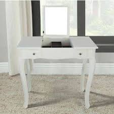 vanity table. White Makeup Vanity Table With Mirror