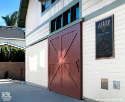 exterior sliding barn doors. Sliding Red Barn Door Traditional-exterior Exterior Doors K