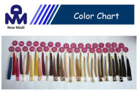 Hair Extension Color Chart Human Hair Extension 33 Color Swatch