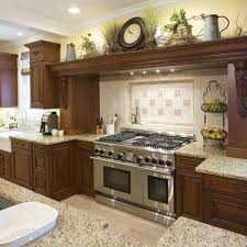 Above Kitchen Cabinet Decor Ideas Kitchen Design Ideas . Nice Look